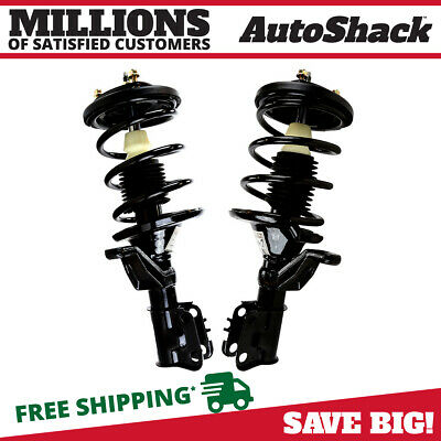 Front Pair (2) Complete Strut Assembly w/Coil Spring Fits 2003-2005 Honda Civic