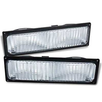 New Set Pair of Left and Right Side Signal Marker Lights fits Chevrolet GMC