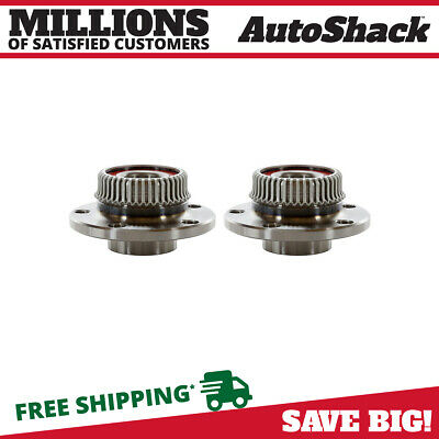 2 New Premium Rear Wheel Hub Bearing Assembly Units Pair/set For Left And Right