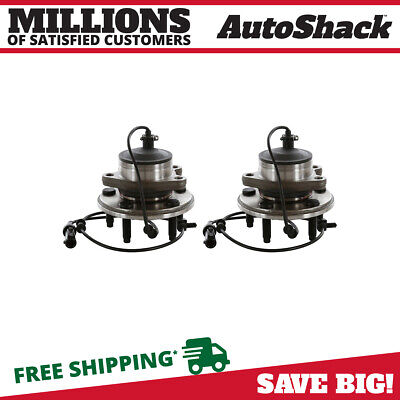 SET OF 2 NEW WHEEL HUB BEARING ASSEMBLY FRONT PAIR fits 2000-2003 JAGUAR S-TYPE