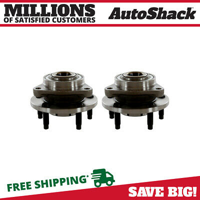 SET OF 2 NEW WHEEL HUB BEARING ASSEMBLY FRONT PAIR fits 2006-2009 CHEVROLET HHR
