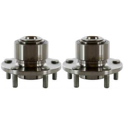 New Pair of Front Left and Right Premium Wheel Hub Bearing Assemblies fits Mazda