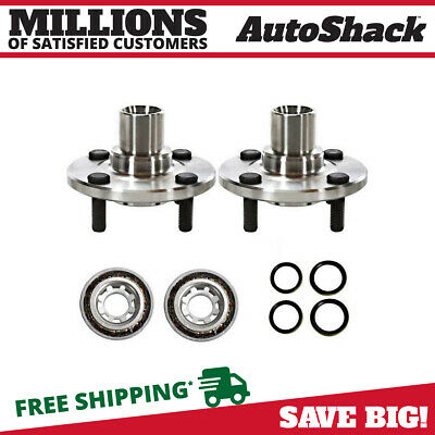 New Pair of Front Left and Right Premium Wheel Hub Bearing Assemblies