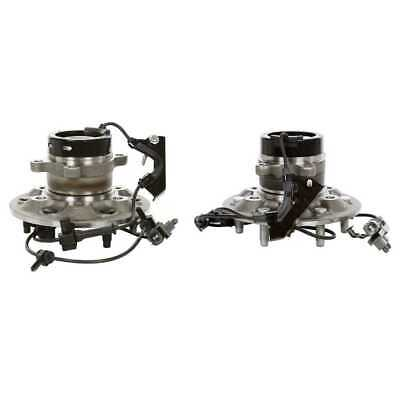 2 New Premium Front Wheel Hub Bearing Assembly Pair fits a Chevrolet and GMC
