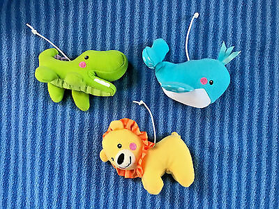 Fisher Price Precious Planet Crib Mobile 3 Hanging Toys Replacement Part