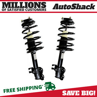 Front Pair (2) Complete Struts Assembly w/coil springs Fits 02-06 Nissan Sentra