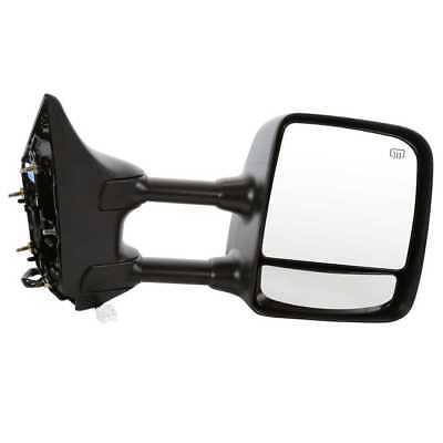 New Side Mirror Power Heated Towing Black Passenger Right for 06-11 Nissan Titan