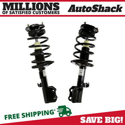Front Pair (2) Complete Strut Assembly w/Coil Spring Fits 03-2008 Toyota Matrix