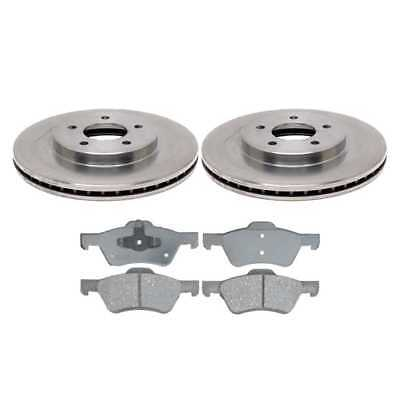 Front Set of Premium Rotors & Performance Pads fits Ford w/Lifetime Warranty