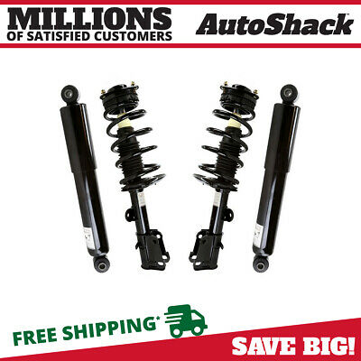 New Set of (4) Front Struts & Rear Shock Absorbers Package fits Chrysler Dodge