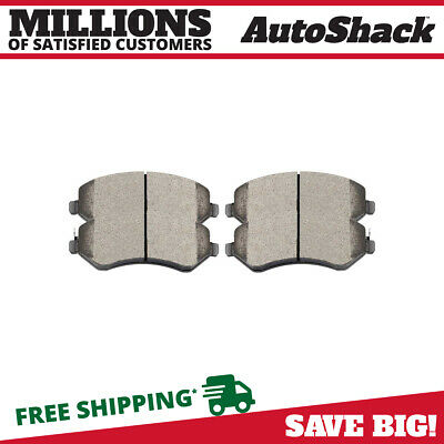 New Front Left and Right Premium Ceramic Disc Brake Pads Set fits Chrysler Dodge
