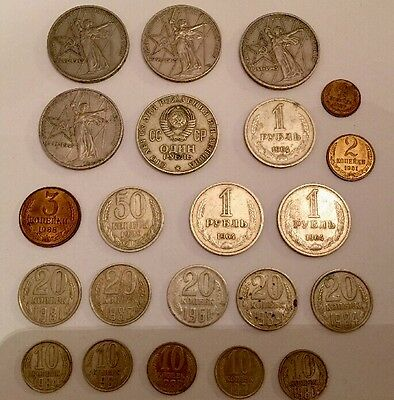 Russia USSR Coins - *22COIN Bundle*