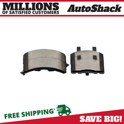 New Complete Set of Front Semi Metallic Brake Pads fits Cadillac Chevy Dodge GMC