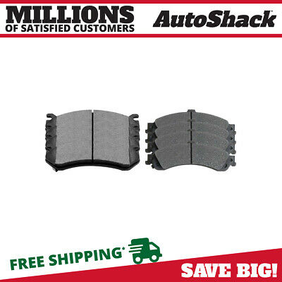 New 4 Front and 4 Rear Set of Ceramic Brake Pads Kit for Cadillac Chevrolet GMC