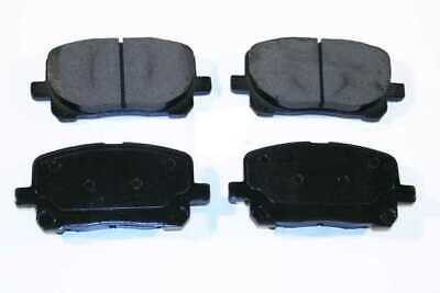 New Premium Complete Set Of Front Metallic Disc Brake Pads With Shims