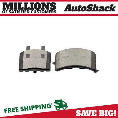 New Front Premium Set of Ceramic Disc Brake Pads fits Cadillac Chevy Dodge GMC