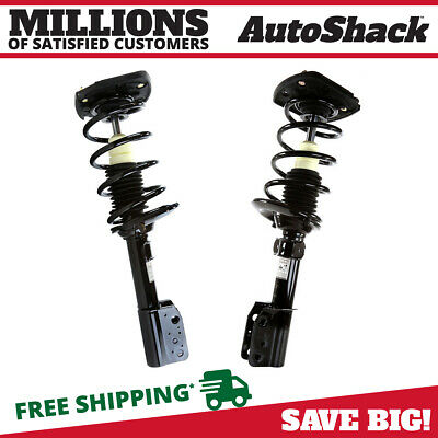 Rear Pair (2) Complete Struts Assembly w/springs Fits 00-11 Chevrolet Impala
