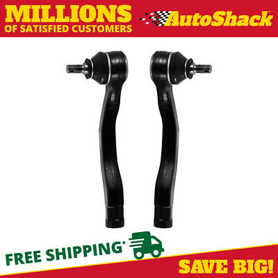 Pair Left Right Front Outer Tie Rod Ends fits Acura Integra Honda Civic CRV