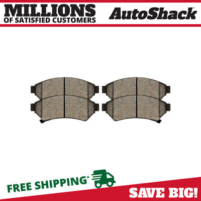 Complete Set of Front Semi Metallic Brake Pads fits Buick Chevy Pontiac Saturn