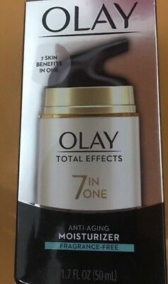 Olay Total Effects 7 in 1 Anti-Aging Daily Moisturizer Fragrance free 1.7 fl