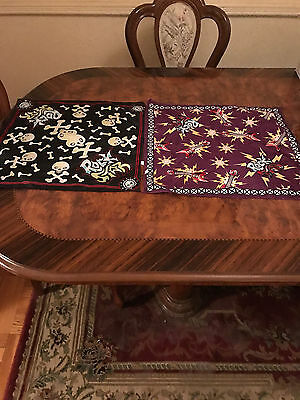 Lot Of 2 Rockstar Kids Or Pets Silky Bandanas