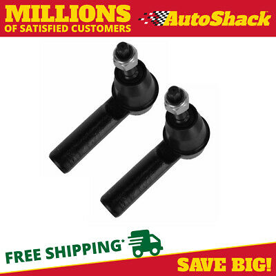 New Pair of Front Left and Right Outer Tie Rod Ends fits 05-12 Ford Mustang