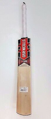 Gray Nic F18 Pulse Kashmir Willow Cric Bat (Indoor) + Free Ship + AU Stock