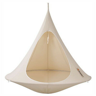 Brand New Cacoon CACOON  |  Double - Natural White Hanging Tent