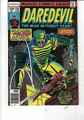Marvel Comic Daredevil #150_January 1978 Very Fine Paladin_Purple Man