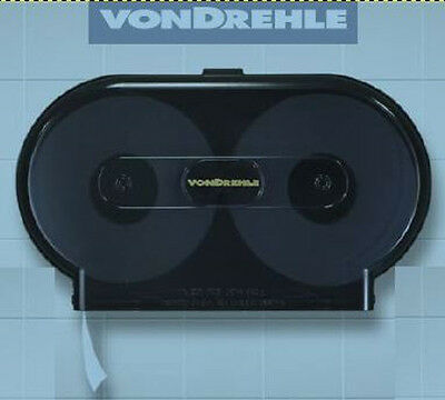 4 Commercial Size Double Roll Toilet Paper Dispenser VONDREHLE 3253