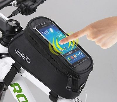Roswheel Cycling Frame Bag Bicycle Bike MTB Front Top Tube Cell Phone Pouch CS36