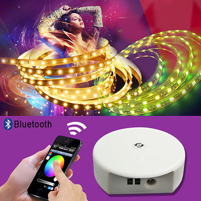 12-24V Bluetooth 4.0 RGB/WW/CW CCT Bluetooth Controller for LED Strip LD687