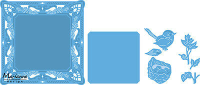 Marianne Design Creatable Die Cut Embossing Stencil Petras Bird Nest Lr0458