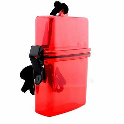 Hot Sale Outdoor Key Money Camping Container Storage Box Plastic Waterproof Case