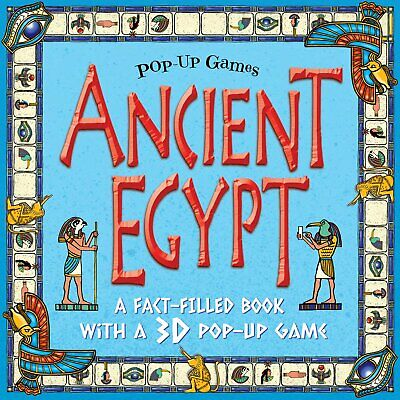 Ancient Egypt Pop Up Game Book - Children's Egypt Project Fact Book and 3D Game