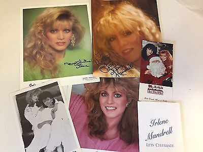 Irlene Louise Mandrell Collectible Souvenir Sisters Singer Autographed Photos