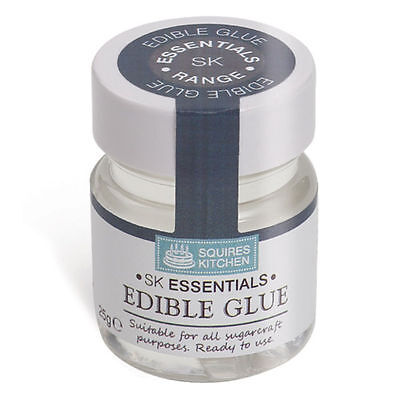 Squires Kitchen Edible Glue 25g Net for Sugarcraft Cake Decorating Hobbies