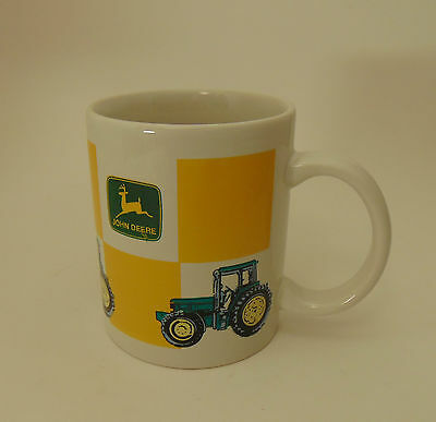 John Deere Green Collectible Tractor Coffee Cup