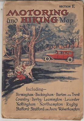 Motoring And Hiking Map Section E : No Author