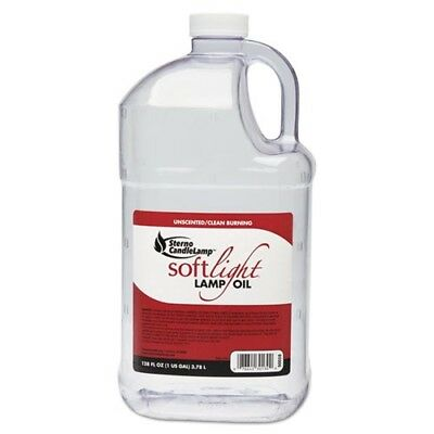 Sterno CandleLamp Soft Light Lamp Fuel, 30130, 1 Gallon/Case of 4