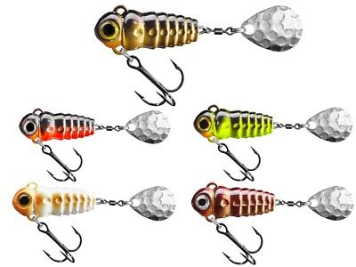 Spinmad Crazy Bug / 30mm 4g / spinning tail / for perch, trout,chub / COULEURS
