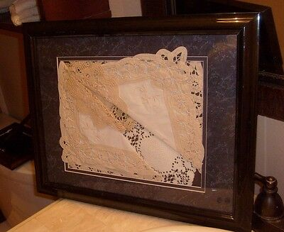 """""""Hankerings"""" Lace Art, abstract, Victorian, modern decor choices,"""