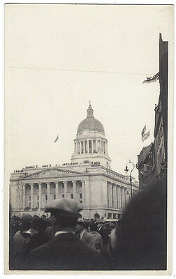 NOTTINGHAM Council House Opening by Prince of Wales 1926, RP Postcard