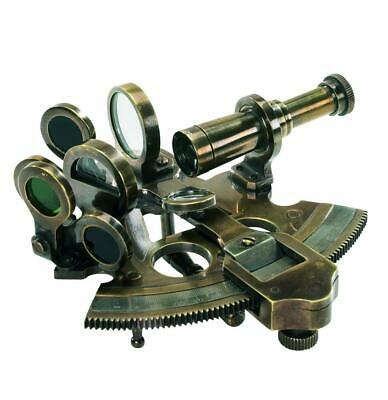 Authentic Models Bronze Pocket Sextant - Taschen Sextant