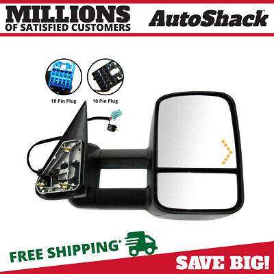Passenger Side Power Heated Towing Signal Mirror fits Chevy Silverado GMC Sierra