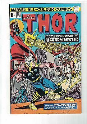 Marvel Comic The Mighty Thor  no 233 March  1975