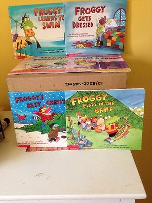 Froggy Paperback Books By Jonathan London Lot Of 6
