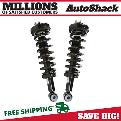 Auto Shack Front Complete Strut Spring Assembly Pair RWD