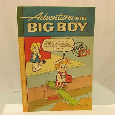 1966 Frisch's Big Boy Restaurant Comic Coca-Cola Advertising Adventures Big Boy