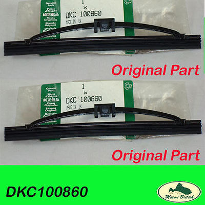 Land Rover Headlamp Headlight Wiper Blade Set Range P38 Dkc100860 Oem